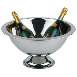 APS Champagnerkühler, Edelstahl hochglanzpoliert