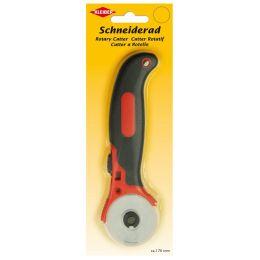 KLEIBER Rollmesser, Klingendurchmesser: 45 mm, schwarz/rot