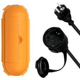 LogiLink Outdoor-Set: Verlängerungskabel + Kabel-Schutzbox
