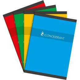 CONQUERANT SEPT Heft, DIN A4, kariert, 48 Blatt
