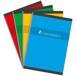 CONQUERANT SEPT Heft, broschiert, DIN A4, kariert, 96 Blatt