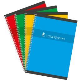 CONQUERANT SEPT Spiralbuch, DIN A4, kariert, 90 Blatt