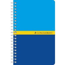 CONQUERANT SEPT Spiralbuch, 90 x 140 mm, kariert, 50 Blatt