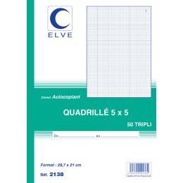 ELVE Notizbuch, 297 x 210 mm, kariert (5/5)