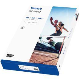tecno Multifunktionspapier speed, A3, 80 g/qm, weiß