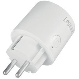 LogiLink Smart Plug Steckdosen-Adapter, weiß, Doppelpack