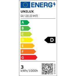 UNiLUX Akku LED-Tischleuchte GALY 1200, dimmbar, weiß