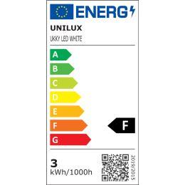 UNiLUX LED-Tischleuchte UKKY, dimmbar, weiß