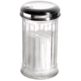 APS Zuckerdosierer, mit Dosierklappe, Edelstahl/Glas