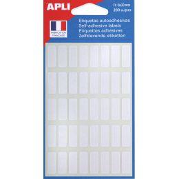 agipa Vielzweck-Etiketten, 12 x 18 mm, weiß