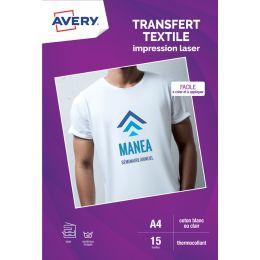 AVERY T-Shirt Transferfolie, DIN A4, weiß