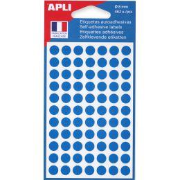 agipa Markierungspunkte, Durchmesser: 8 mm, rund, blau