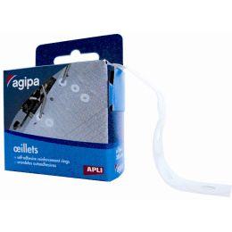 agipa Lochverstärkungsringe, weiß, Durchmesser: 12,5 mm
