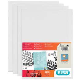 ELBA Sichthüllen DIN A4 FardLiss, PVC 0,18 mm, farblos