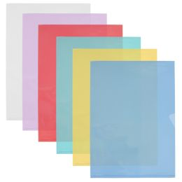 ELBA Sichthüllen DIN A4 FardLiss, PVC 0,18 mm, grün