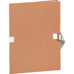 EXACOMPTA Dokumentenmappe, DIN A4, Papier, chamois