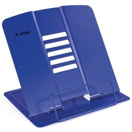 HERMA Leseständer XL, aus Metall, blau