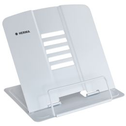 HERMA Leseständer XL, aus Metall, weiß