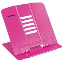 HERMA Leseständer XL, aus Metall, pink