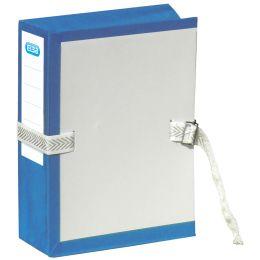ELBA Archivmappe mit Metallschnalle, dehnbar, blau