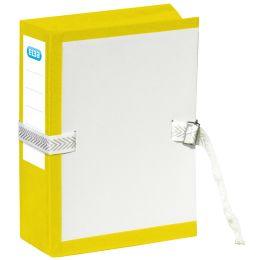 ELBA Archivmappe mit Metallschnalle, dehnbar, gelb