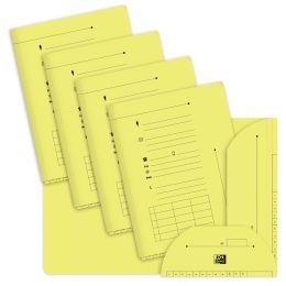 ELBA Aktenmappe HV, Farbe: gelb, 240 g/qm