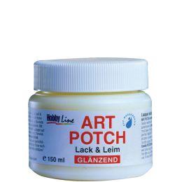 KREUL Servietten-Lack & Leim ART POTCH, glänzend, 150 ml