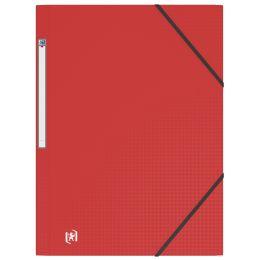 ELBA Eckspannermappe Memphis, DIN A4, aus PP, rot