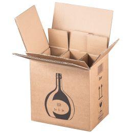 SMARTBOXPRO Bocksbeutel-Versandkarton, für 3 Flaschen