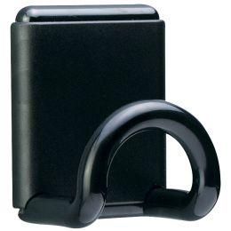 UNiLUX Garderobenhaken FIL Magnetisch, magnetisch, schwarz