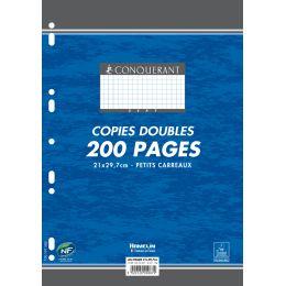 CONQUERANT Sept Kanzleipapier, DIN A4, kariert, 100 Blatt