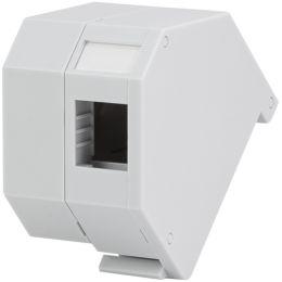 LogiLink Hutschienen-Adapter für LC-Duplex oder SC-Simplex
