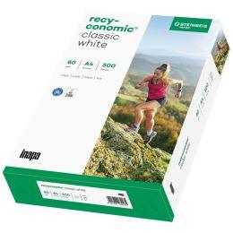 Inapa Multifunktionspapier Recyconomic Classic White, A4
