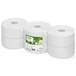 satino by wepa Großrollen-Toilettenpapier Comfort, 180 m