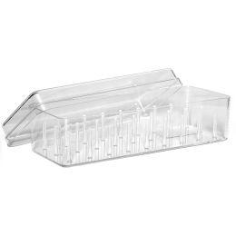 Gütermann Nähfaden-Box, für 27 Spulen, transparent