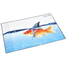Läufer Schreibunterlage Goldhai, 400 x 530 mm