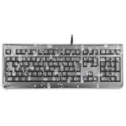 KEY-Protect Wasserdichte Tastatur, Layout: DE, schwarz