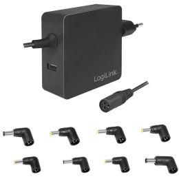 LogiLink Universal Netzteil für Notebook, 70 Watt, USB-Port