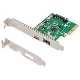 DIGITUS USB 3.1 PCI Express Schnittstellenkarte