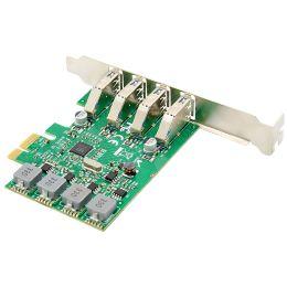 DIGITUS USB 3.0 PCI Express Add-On Karte, 4-Port