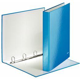 LEITZ Ringbuch WOW, DIN A4, Hartpappe, blau