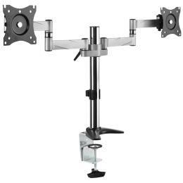 LogiLink TFT-/LCD-Doppel-Monitorarm, Armlänge: 342 mm