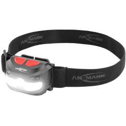 ANSMANN Sensor-LED-Kopflampe HD250RS, 250 Lumen, IP54