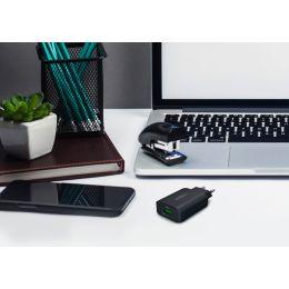 ANSMANN USB-Adapterstecker HOME CHARGER 130Q, schwarz