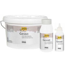 KREUL Acrylgrundierung SOLO Goya Gesso, weiß, 2,5 Liter