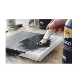 KREUL Acrylgrundierung SOLO Goya Gesso, schwarz, 250 ml