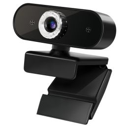 LogiLink HD-USB-Webcam mit Mikrofon, schwarz
