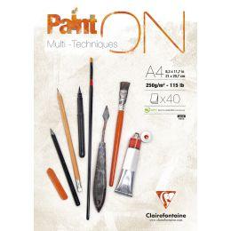 Clairefontaine Zeichenpapierblock PaintON, DIN A5