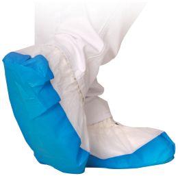 HYGOSTAR PP-Überschuh SAFE mit CPE-Sohle, weiß/blau