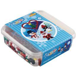 Hama Bügelperlen maxi + Stiftplatte Weihnachten, in Box